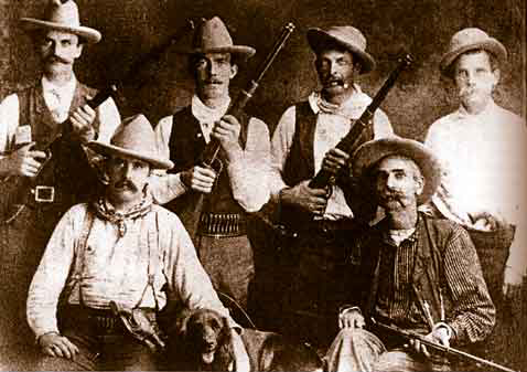 The Rosebud, Montana Vigilantes - including the author's grandfather